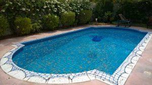 Pool safety net, Green Community, Dubai