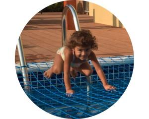 Pool safety net Arabian Ranches Palmera Dubai