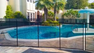 Pool safety fence Jumeirah, Dubai.
