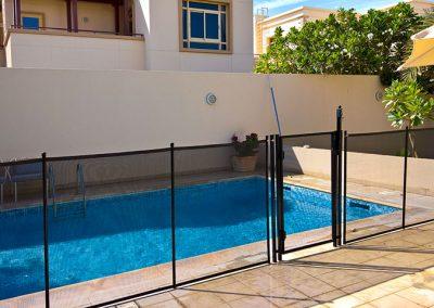 Pool safety fence, Golf Gardens, Abu Dhabi