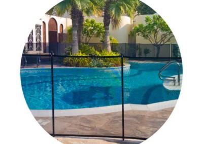 Pool safety fence Jumeirah Dubai