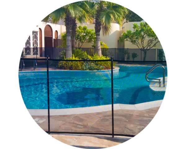 Pool Safety Fence Swimming Pool Gates Removable Pool