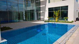 Pool safety net Al Barsha, Dubai.