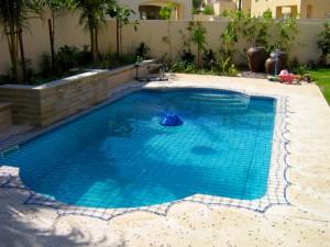 Aquanet pool safety net at Arabian Ranches Dubai