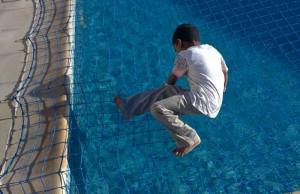 Pool safety net Golf Villas Abu Dhabi
