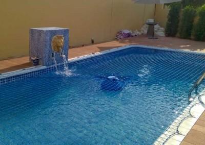 Pool safety net Arabian Ranches, Palmera, Dubai.