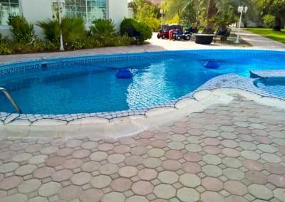 Pool safety net Al Barsha 1, Dubai.