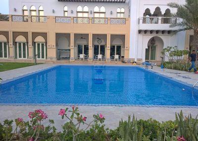 Pool safety net, Emirates Hills, Dubai