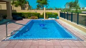 Pool safety net Golf View, Dubai.