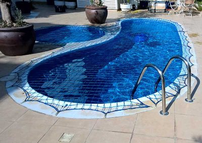 Pool safety net, Jumeirah Golf Estates, Dubai