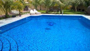 Pool safety net Muhaisenah, Dubai.