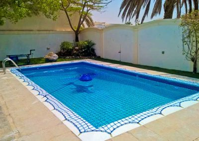 Pool safety net, Al Safa, Dubai