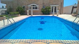 Pool safety net Um Seqeim, Dubai.