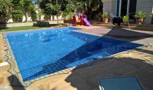 Pool safety net Victory Heights, Dubai.