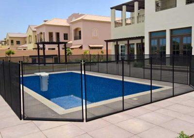 Pool fence at Redwood Avenue, JGE, Dubai