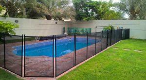 Pool safety fence, Jumeirah Park, Dubai