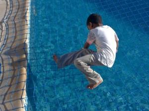 Aquanet pool safety net Abu Dhabi