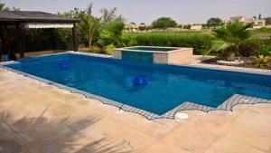 Pool safety net, Arabian Ranches, Saheel, Dubai