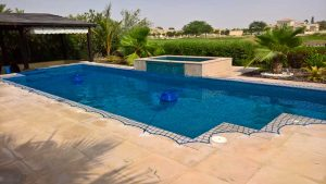 Pool safety net Arabian Ranches, Saheel, Dubai.