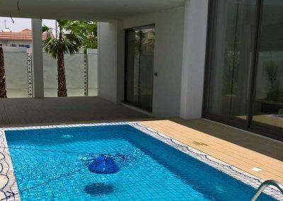 Pool safety net Mizhar, Dubai.