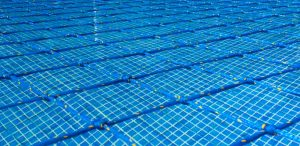 Aquanet pool safety net close-up