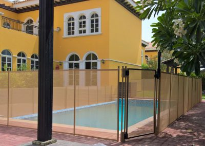 pool-safety-fence-the-Villa-beige-colour
